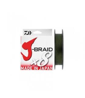 DAIWA J-BRAID X8 0.35MM 300M 36KG DARK GREEN