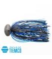 TIEMCO KARIRUBBER TG 1/2OZ BLACK BLUE 002