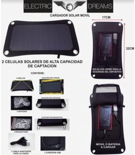 COVI CASH PANEL SOLAR CARGADOR