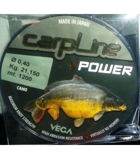 VEGA HILO CARPFISHING CARPLINE VPOWER 0,35 0,40