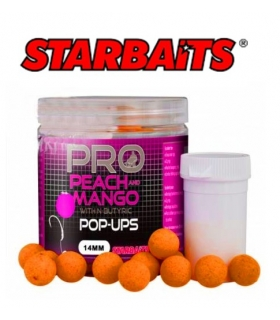 STARBAITS PEACH & MANGO POP UP 14MM