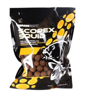 NASH SCOPEX SQUID STABILISED BOILIES 15mm 1KG
