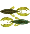"BIG BITE BAITS ROJAS FIGHTING FROG 4"" CANDY GRASS"