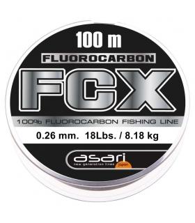 ASARI FLUOROCARBON 100% 0.24mm 15lbs 100m