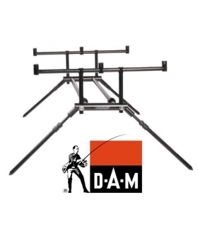 DAM MAD ALU TWIN BACK BONE ROD POD 4 ROD