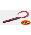 ZOOM CURLY TAIL WORM PLUM