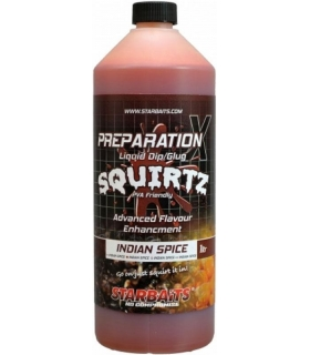 STARBAITS PREP X SQUIRTZ INDIAN SPICE 1 L
