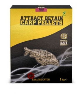 SBS CARP ATTRASCT BETAIN PELLETS FRANKFURTER SAUSAGE 6MM 1KG